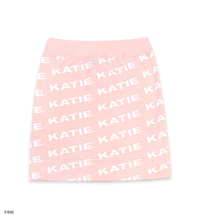 KATIE LOGO FAB mini skirt