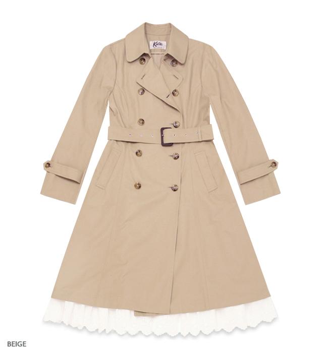 LADY SOCIETY trench coat
