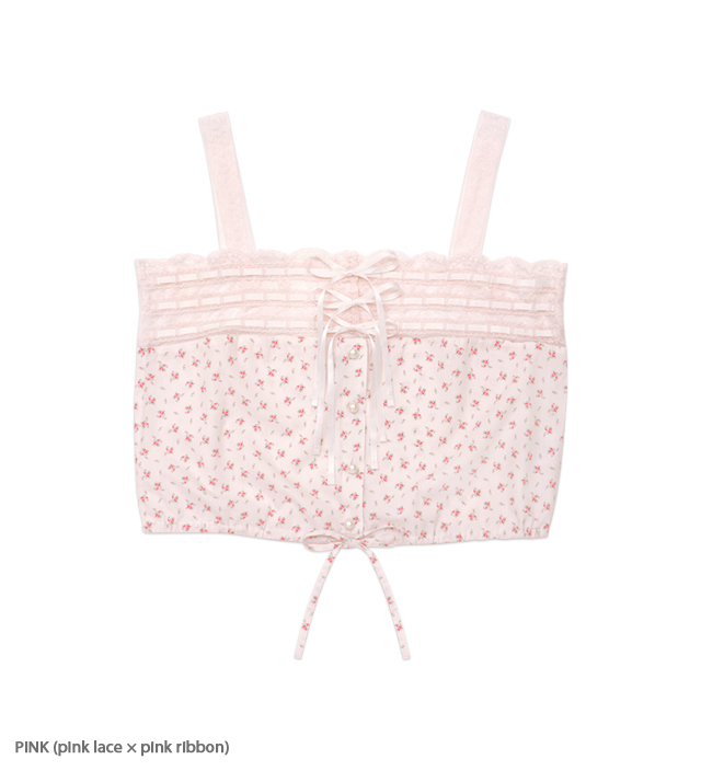 LOOKING GLASS lacy camisole