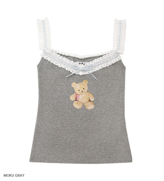 LOVELY TEDDY camisole
