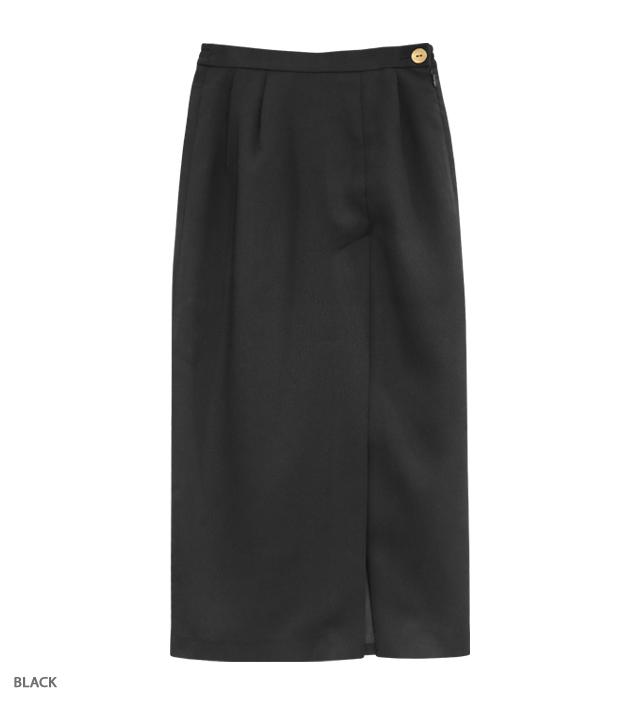 MANOR HOUSE long slit skirt