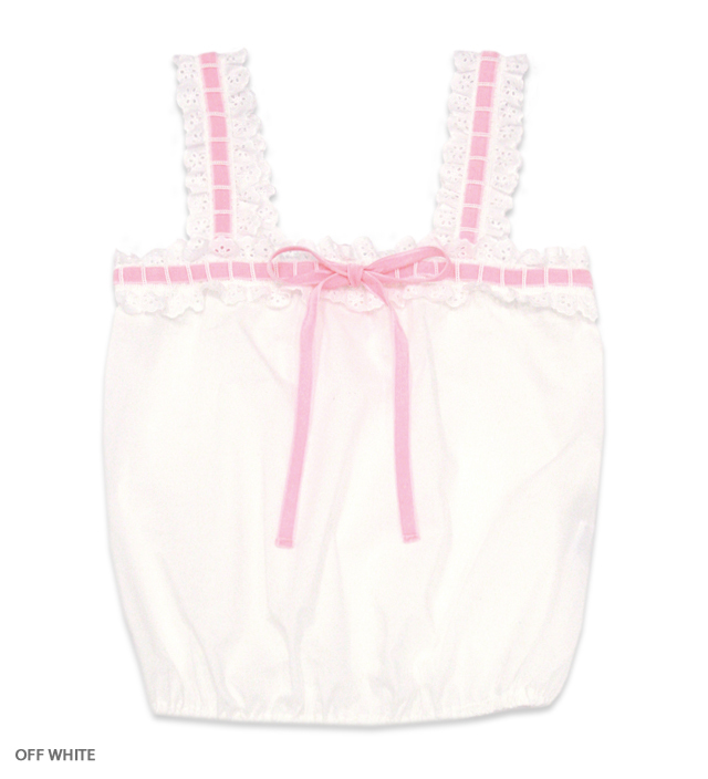 NO COUNTRY frill camisole