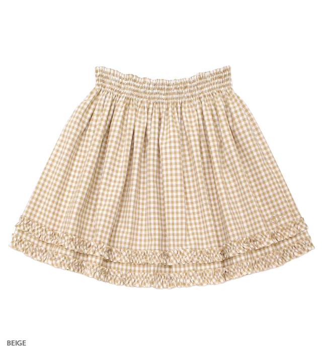 NUTCRACKERS frilled skirt