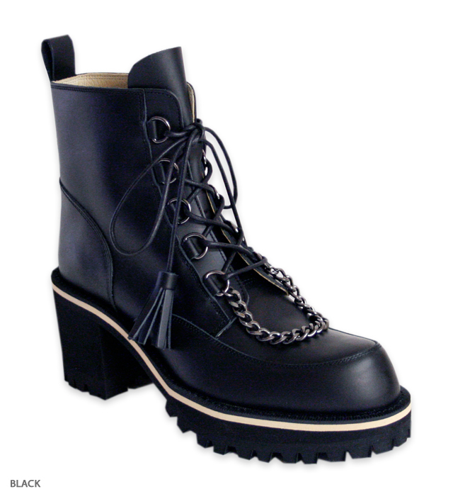 OSBORNE chain short boots