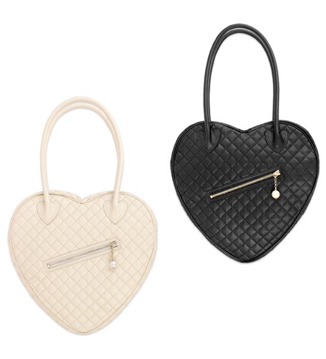 PARIS heart shoulder bag