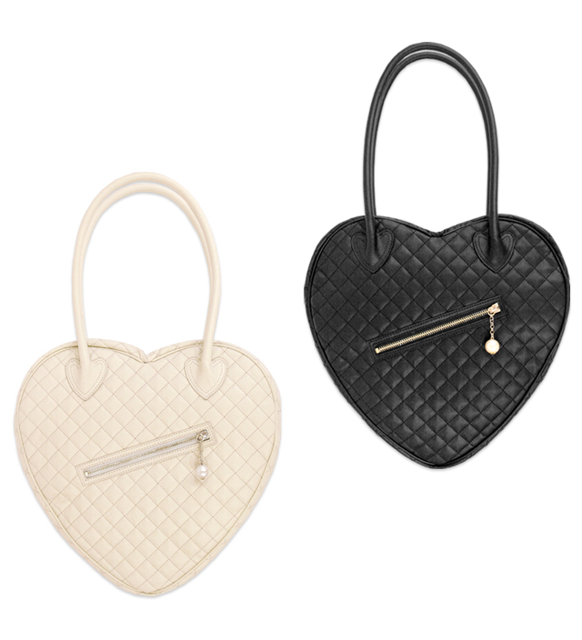 PARIS heart shoulder bag