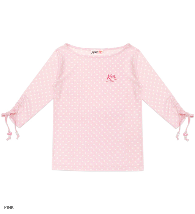PINK UNIFORM 7 sleeve tee