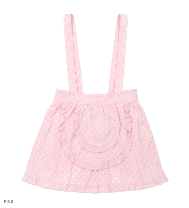 PINK UNIFORM apron