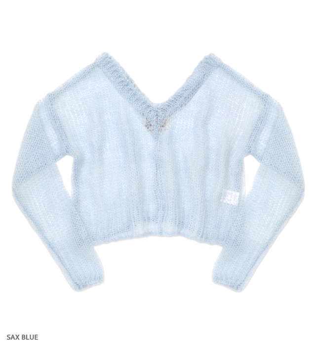 PUNKY PUNKY v neck knit