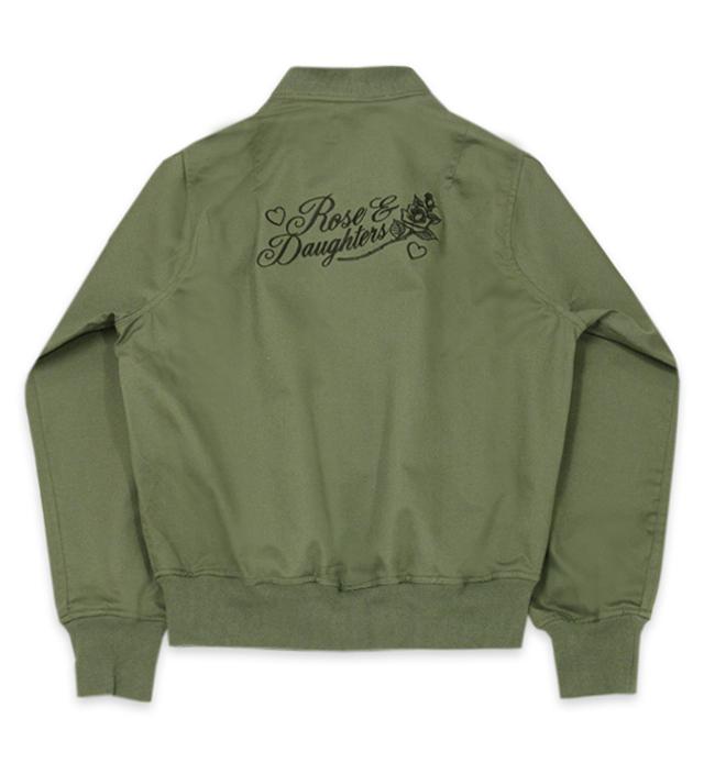 ROSE & DAUGHTERS bomber jacket