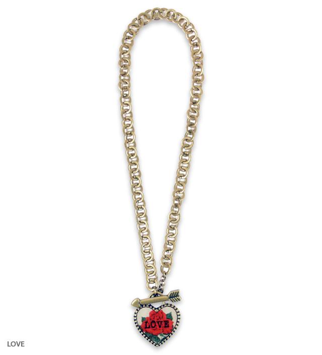 SWEET HEART big heart necklace