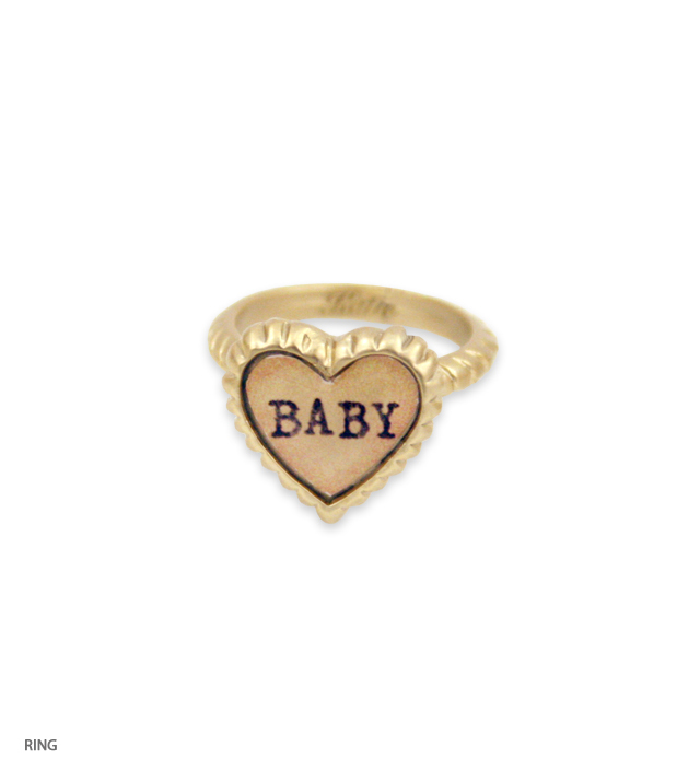 SWEET HEART petit heart ring