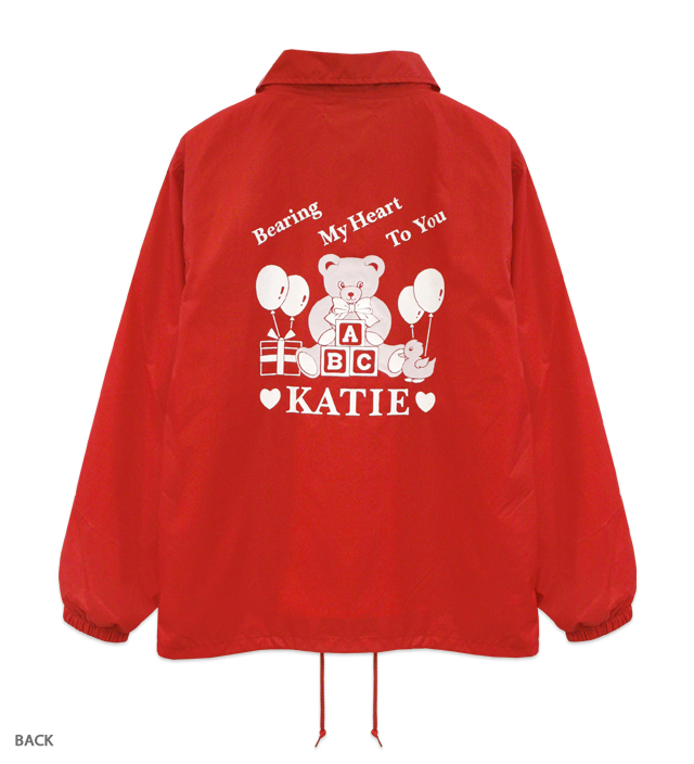 SOUVENIR BEAR coach jacket
