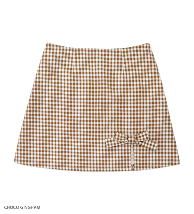 SWEET ESCAPE ribbon mini skirt