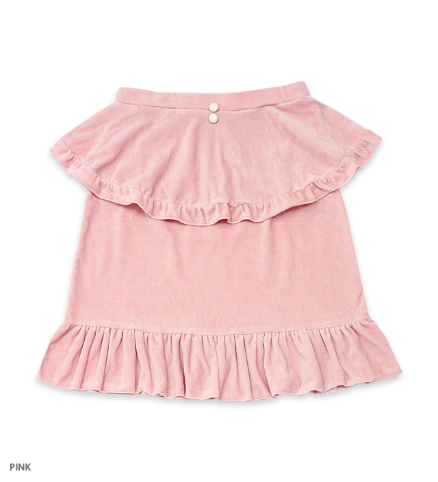 SWEET ROMANCE apron skirt