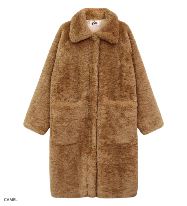 TEDDY FUR long coat