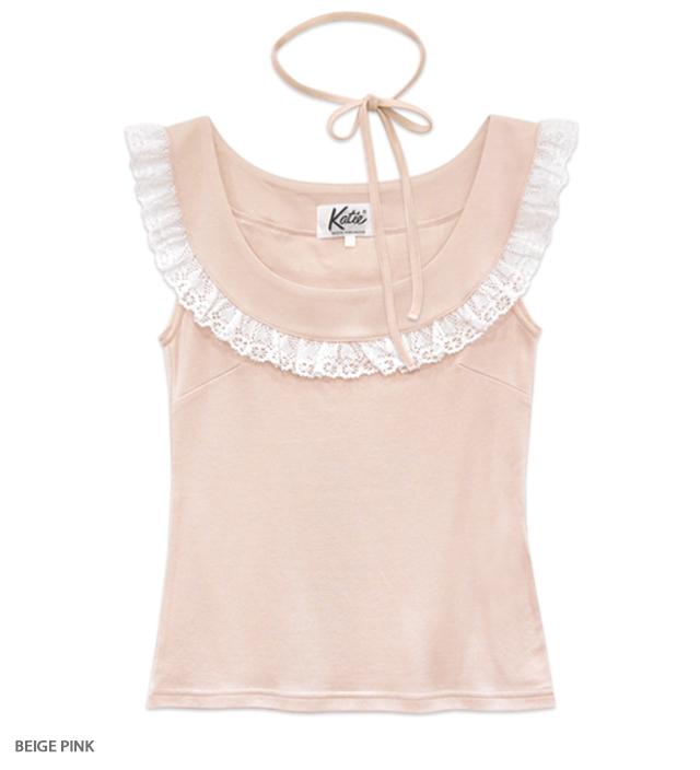 TENDER TALK frill top