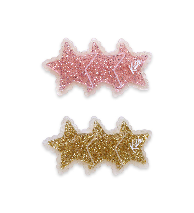 TRIPLE STAR barrette