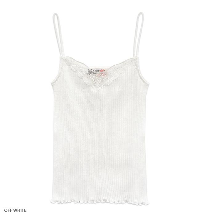 UNDER PRETTIES lace camisole