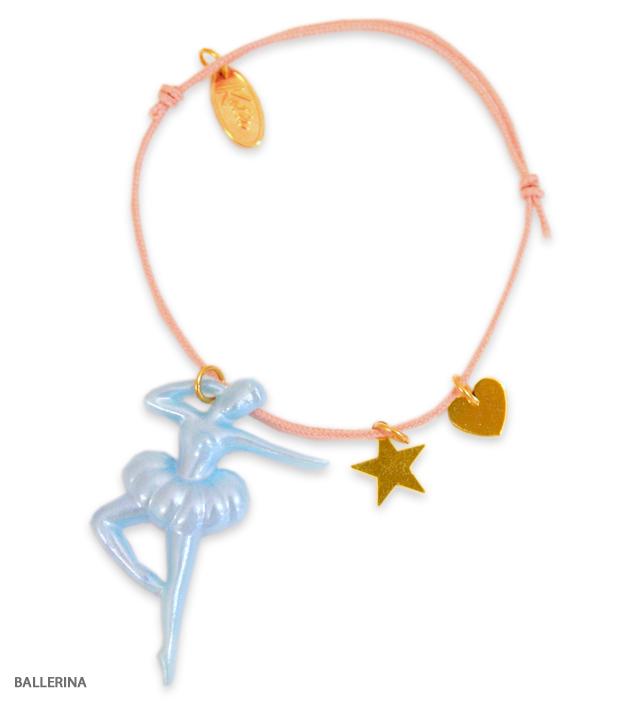 VINTAGE CHARM cord bracelet