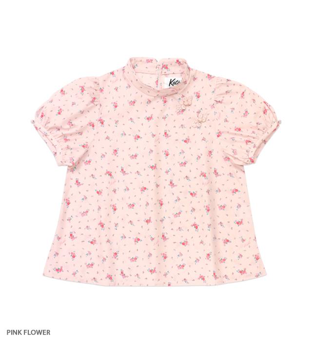 VIRGIN UP china puff blouse