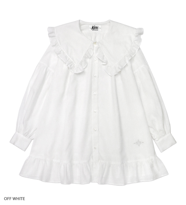 WHITE CULT clown shirt one-piece