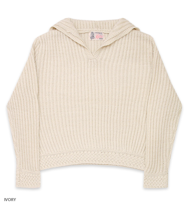 WINTER BABE sailor knit