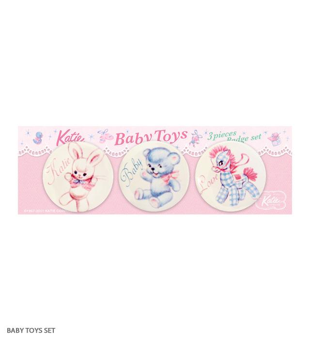 BADGE baby toys set