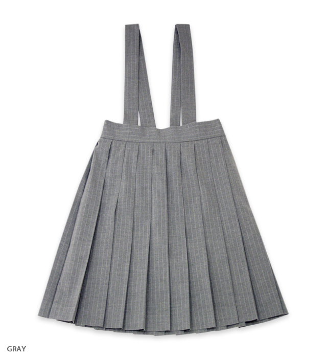 CAFE CHIC pleats skirt