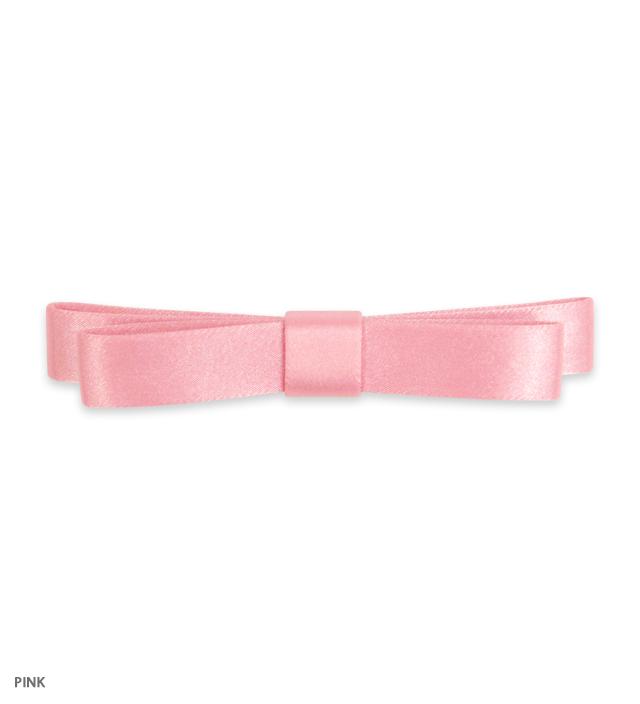 SATIN long ribbon pin