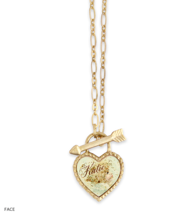 SWEET HEART angel necklace