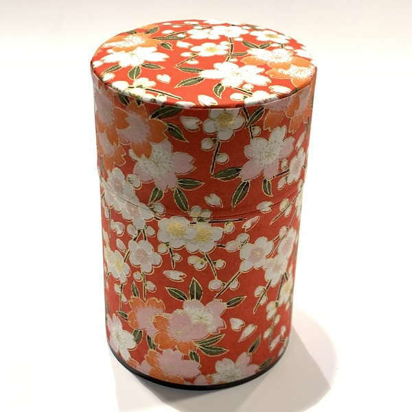 【和紙茶缶100g】212