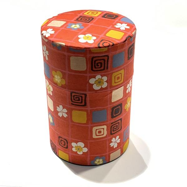 【和紙茶缶100g】6