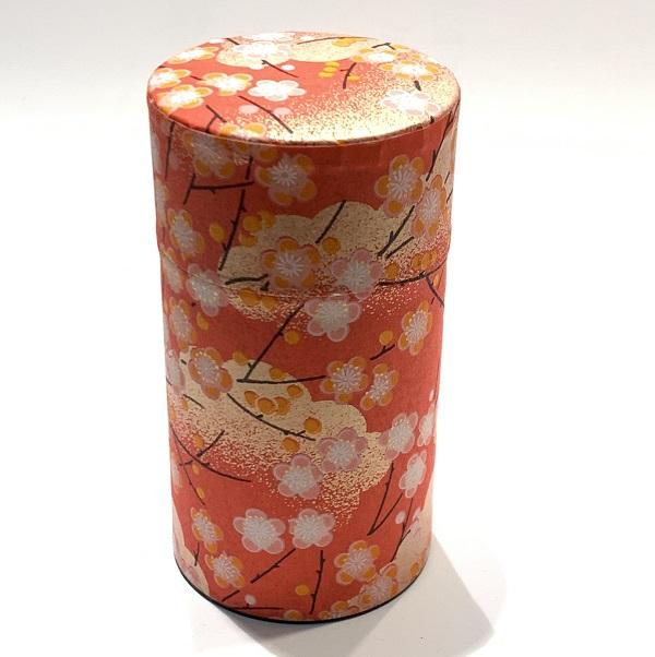 【和紙茶缶150g】108