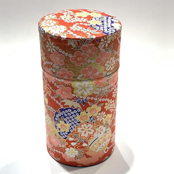 【和紙茶缶150g】181