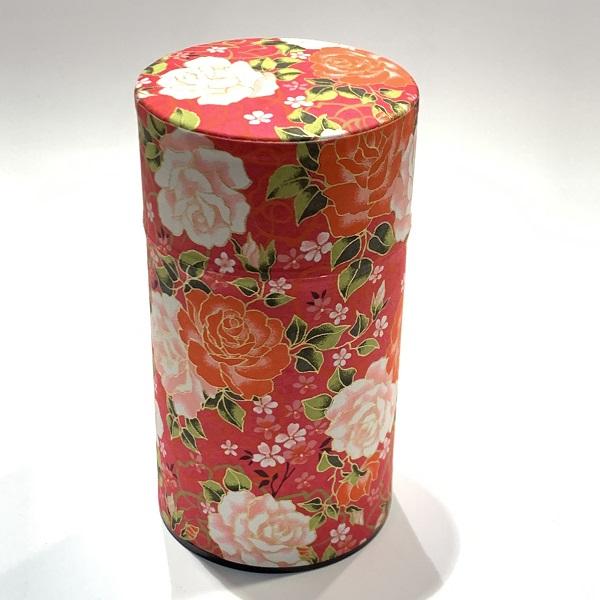 【和紙茶缶150g】226