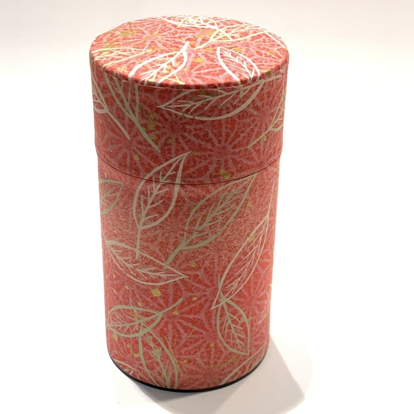 【和紙茶缶150g】23