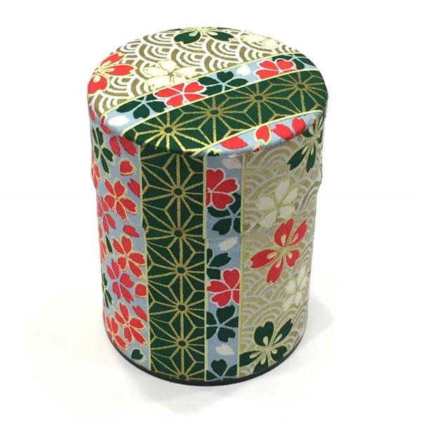 【和紙茶缶50g】178