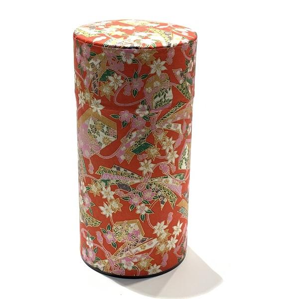 【和紙茶缶200g】261