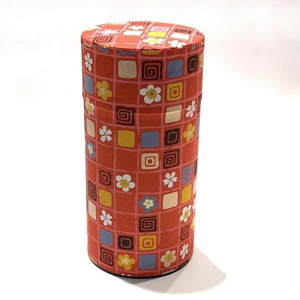 【和紙茶缶200g】264