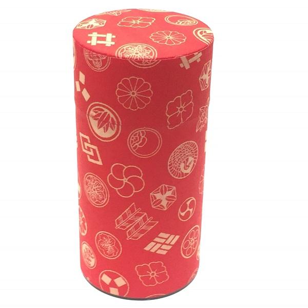 【和紙茶缶200g】243