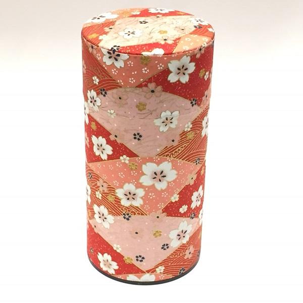 【和紙茶缶200g】248