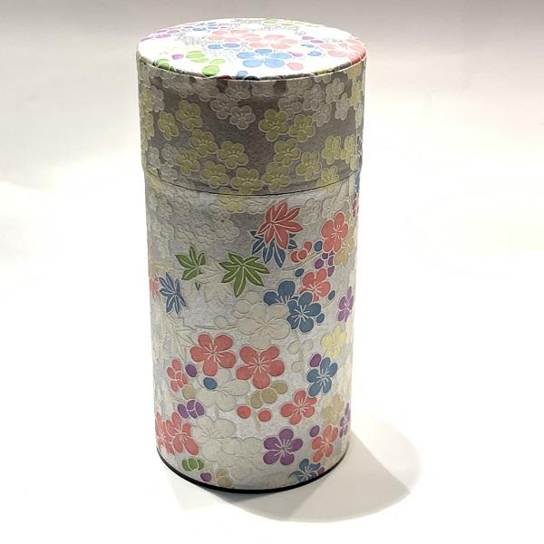 【和紙茶缶200g】12