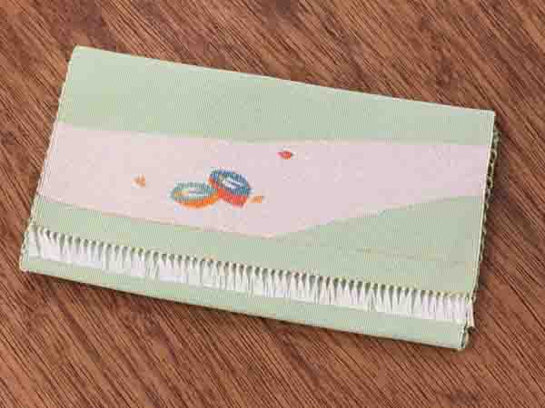 【茶道具 ふくさばさみ つづれ織り】懐紙入れ-75