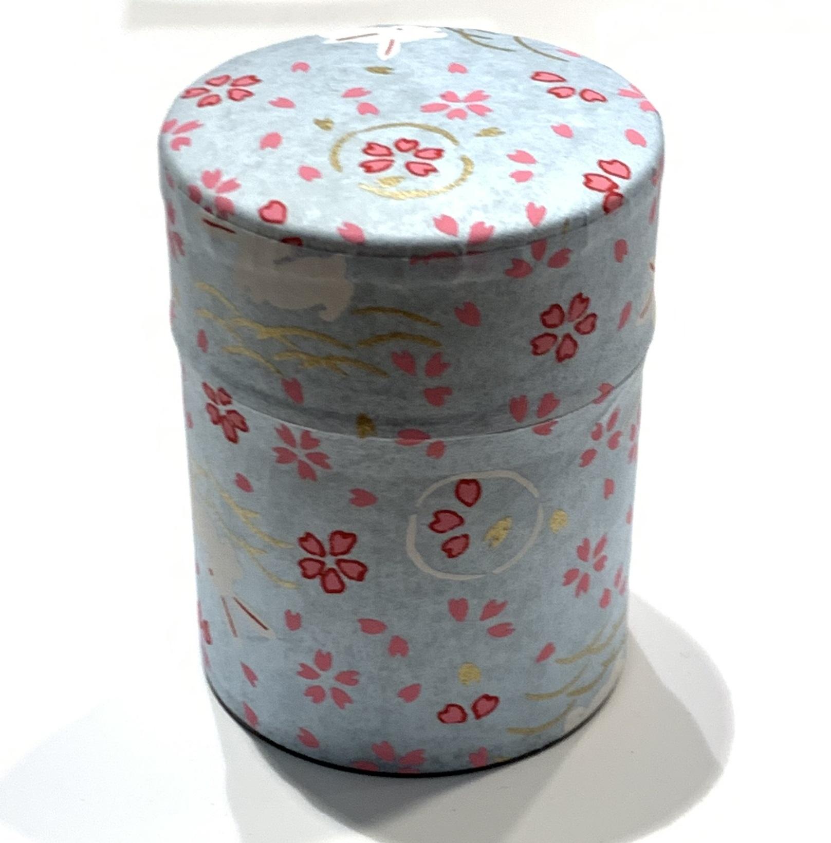 【和紙茶缶50g】12