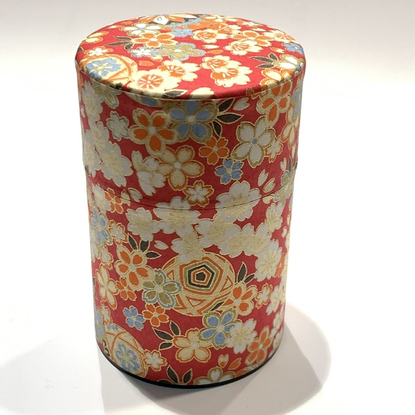 【和紙茶缶100g】160