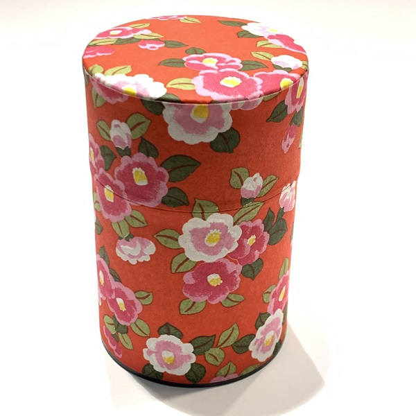 【和紙茶缶100g】181