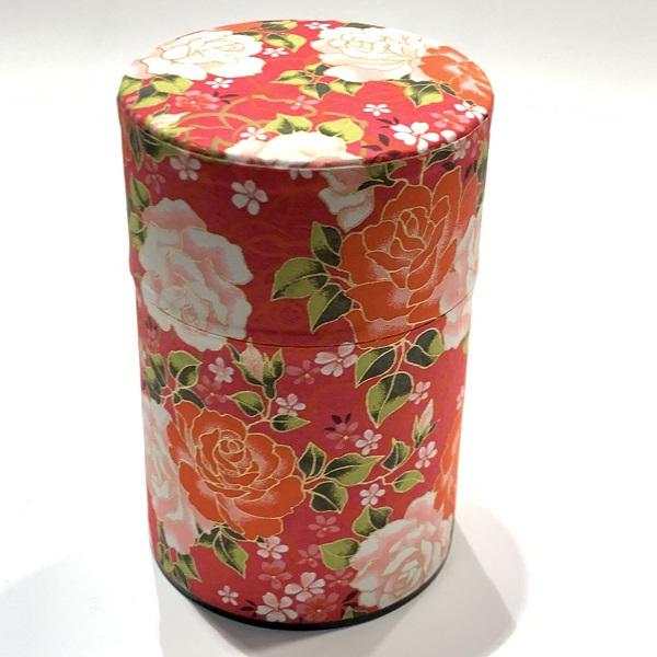 【和紙茶缶100g】196