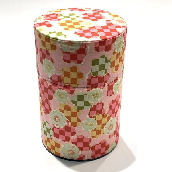【和紙茶缶100g】199