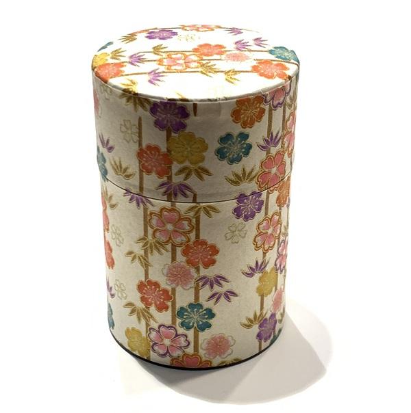 【和紙茶缶100g】2
